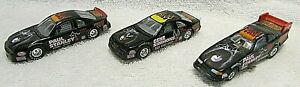 Collectible Set of 3 KISS Diecast 1/64th Scale Race Cars BY Johnny Lightning