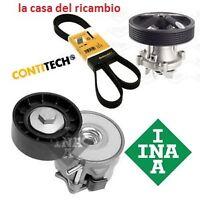 CINGHIA SERVIZI + POMPA + TENDITORE FIAT GRANDE PUNTO PANDA 500 1.3 MJT 75 90CV