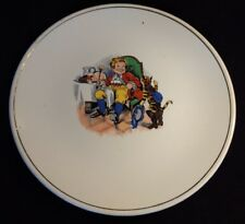 Vintage Puss In Boots Meets the King Plate / Dish