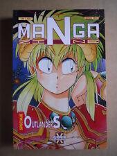 MANGA Zine - rivista MANGA Speciale n°1 1992 Outlanders  Granata   [G371A]
