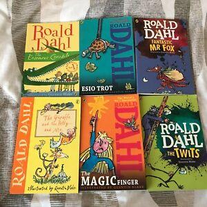 Roald Dahl Book Bundle x6 Young Readers Books