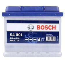 BOSCH S4 001 44Ah 440A 12V AUTOBATTERIE STARTERBATTERIE PKW-BATTERIE 31569267