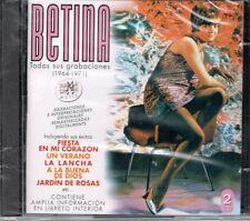 Betina Todas Sus Grabaciones   1964-1971 (2 CDS SET)  BRAND NEW SEALED
