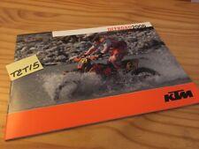 KTM offroad 2006 EXC 525 400 250 125 200 300 , 640 LC4 625 SXC moto prospectus