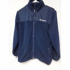 Timberland full front zip Fleece Blue Long Sleeve Youth XL