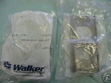 Lot of Walker Cat. No. 1702 Duplex Receptacle Covers <