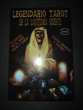 TAROT DE LUJO LEGENDARIO DE LA SANTISIMA MUERTE libro cartas Book