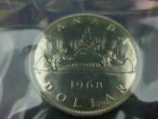 1968 $1 Uncirculated Canadian Nickel Dollar