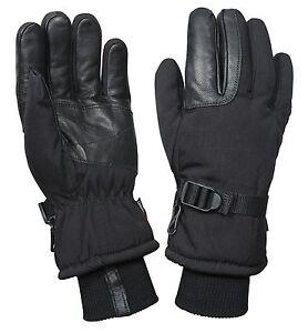 Black Cold Weather Waterproof Military Glove/Mitten - Small, Medium, Large, XL