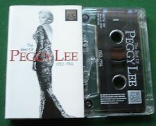 Peggy Lee Best Of 1952-1956 inc Black Coffee Mr Wonderful + Cassette Tape TESTED
