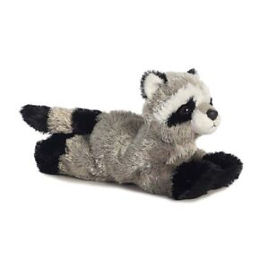 Rascal The Raccoon Aurora Plush Stuffed Animal Toy Cute Cuddly Coon 8 Inches