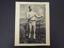 Vintage photo of boxer from magazine