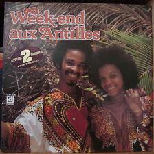 WEEK-END AUX ANTILLES ANTILLES GATEFOLD COVER DOUBLE FRENCH LP