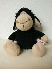 NICI Jolly Mäh Schaf, schwarz, Schlenker, unbespielt und neuwertig, ca. 25cm.