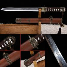 """20""""Inch High Quality Chinese Sword Patter Steel Sharp Blade Full Tang Sword #211"""