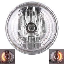 """8""""Headlight Headlamp Light  W/ LED Turn Signal Light for Harley Bobber Chopper"""
