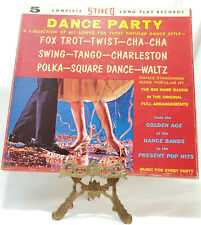 BOX SET 5 LP Dance Party A Collection Of Hit Songs For Every Popular Dance Style
