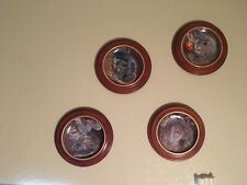 Bradford Exchange Bunny Plates Full Set with Frames