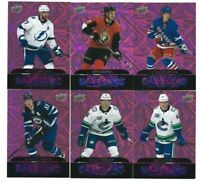2020-21 Upper Deck Series 2 Dazzlers Pink Stars & RC Cards *You Pick From List*