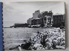 1967 PHOTO ALBUM LEBANON BEIRUT CYPRUS BAALBEK 50 pics SOLDIERS PEOPLE BUILDINGS