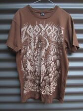 Zoo York Brown T Shirt Statue Of Liberty Motif Label Size Small