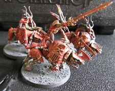 Warhammer Daemons of Chaos Age of Sigmar Blades of Khorne Bloodcrushers painted