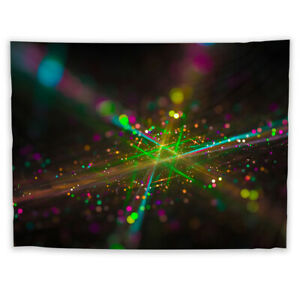Abstract Trippy Mandala  Tapestry Art Wall Poster Hanging Sofa Table Cover