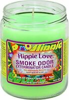 Hippie Love Odor Exterminator 13oz Jar Candle (2) 2 Pack