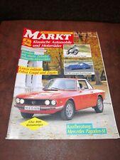 Vintage MARKET 1/1990-Lancia Fulvia Coupe and Zagato, BMW 328, Pagoda