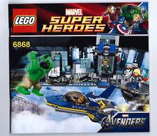 Lego instruction booklet - Marvel Avengers:  Hulk Helicarrier Breakout 6868