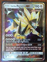 Pokemon Card  DUSK MANE NECROZMA GX Ultra Rare SM102  SUN and MOON  PROMO *MINT*