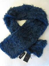 Paul Smith Femmes Tenue Habillée - StretchFur Peau d'agneau écharpe - Bleu