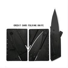 1pc Pocket Knife Steel Credit Card Knife Portable Wallet Knife Outdoor Safe Tool