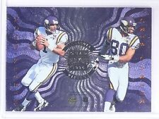 1996 Absolute Quad Series Cris Carter Chad May Robert Smith Warren Moon #17 *627