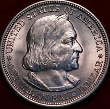 Uncirculated 1893 Philadelphia Mint Columbian Expo Silver Comm Half