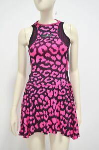 2019 ADIDAS STELLA MCCARTNEY Tennis Skirt Leopard Dance Gym Golf Run Dress - S