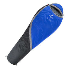 Whinter Cotton Down Mummy Sleeping Bag 0 ℃ Waterproof Camping Outdoor Blue