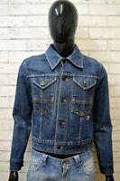 ROY ROGERS Giacca Uomo Cotone in Jeans Taglia S Jacket Giubbotto Blu Giubbino