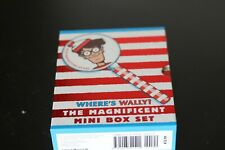 Where's Wally? The Magnificent Mini Box Set of 5 Books & Magnifying Glass!