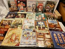 Tole Painting Book Lot - 44 Assorted Tole Painting Books + 25 Tole Pattern Mags