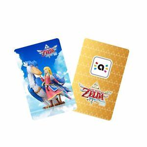 The legend of zelda skyward sword hd amiibo card small 3x2cm