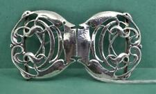 Arts & Crafts Sterling Silver Buckle Cymenie Liberty & Co Archibald Knox 1906