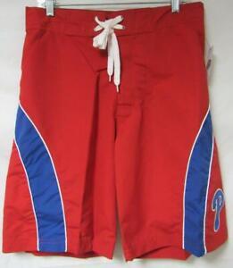 Philadelphia Phillies Mens Large or X-Large Swim Trunks Board Shorts A1 2159