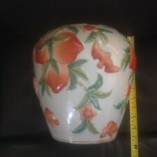 Chinese Famille Rose Peaches And Bats Vase REDUCED!!! 200$