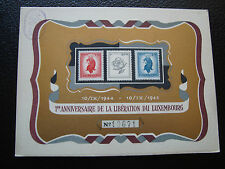 LUXEMBOURG - carte-document 10/9/1945 (cy81) (A)