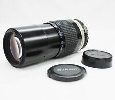 [Excellent Nikon Ai-s NIKKOR 200mm F/4 MF Lens from Japan