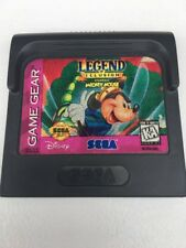 Legend of Illusion Starring Mickey Mouse Sega Game Gear Disney Kids Children's