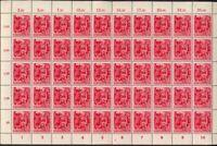 Deutsches Reich - 1945 - SA/SS zwei komplette Bogen, Michel 909/910, KW € 4.000