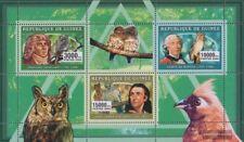 Guinée 4281-4283 Feuille miniature (complète edition) neuf avec gomme originale