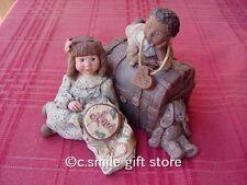 """Sarah's Attic """"Love Starts With Children"""" '92/93 Collectors Club Le w/Coa Rare!"""